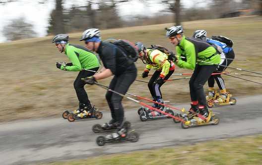 Skater Gruppe
